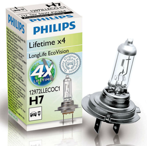 Автолампа Philips H7 Long Life ECO